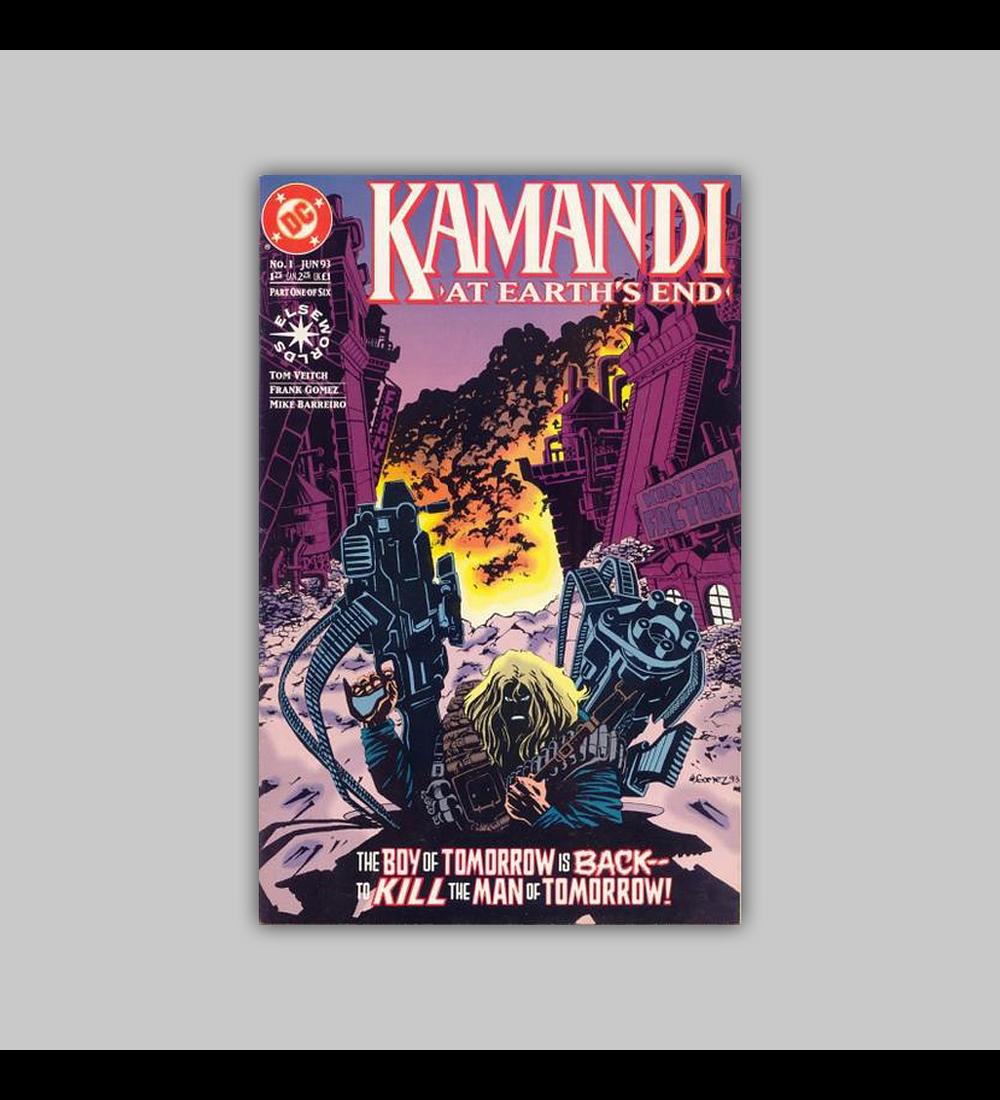 Kamandi: At Earth's End 1 1993