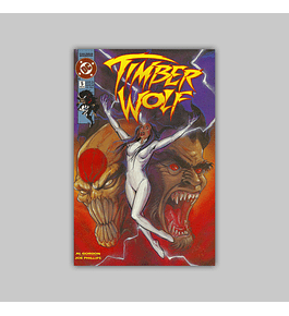 Timber Wolf 5 VF/NM (9.0) 1993