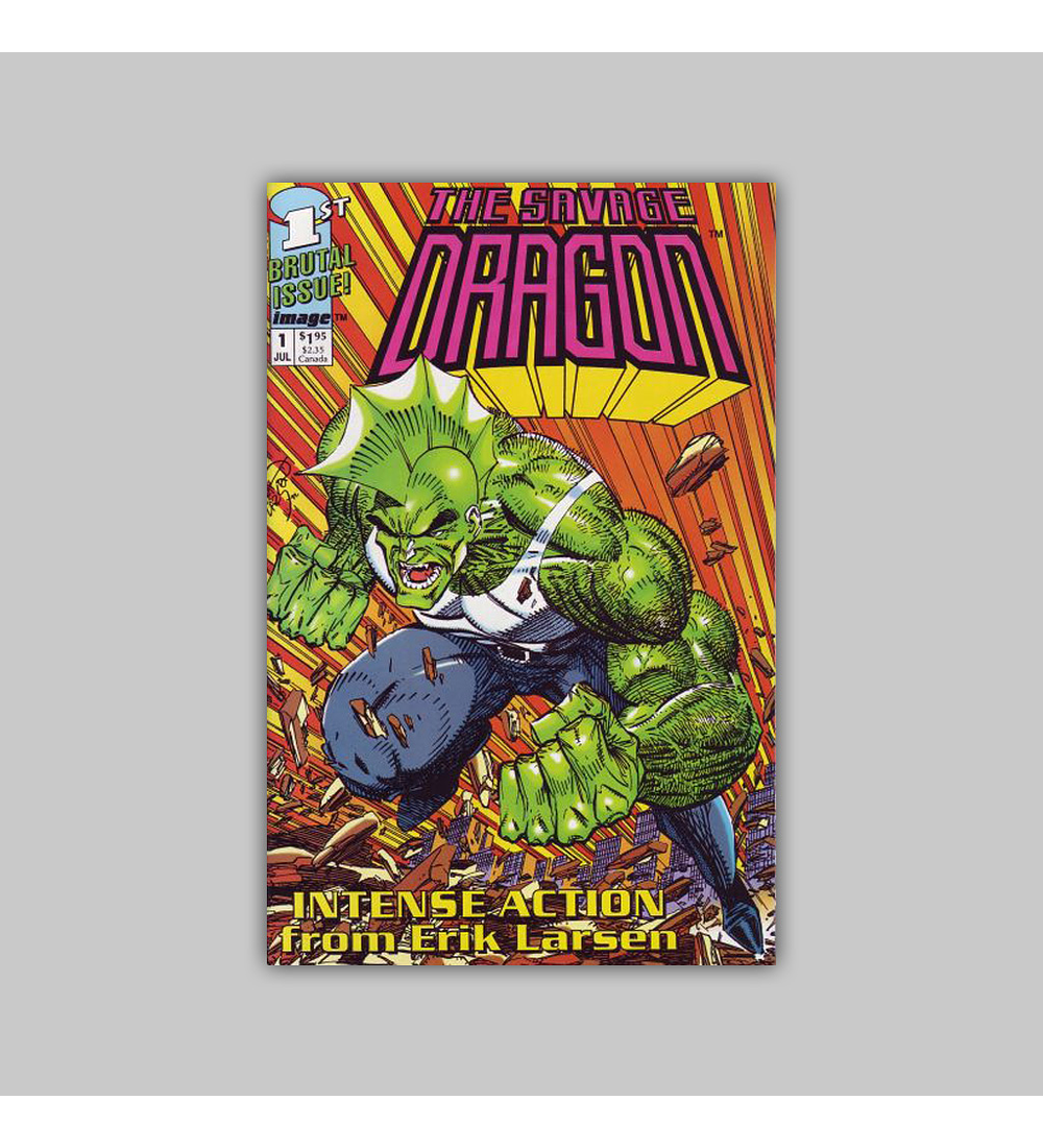 Savage Dragon 1 1992