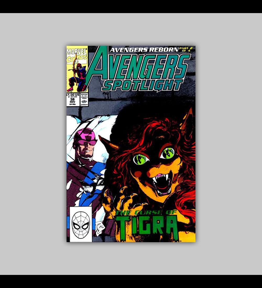 Avengers Spotlight 38 1990