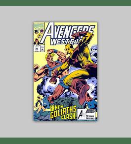 Avengers West Coast 92 1993