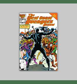 West Coast Avengers Annual 1 1986