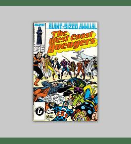 Avengers West Coast Annual 2 1987