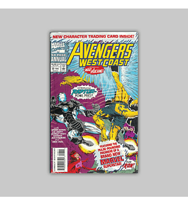 Avengers West Coast Annual 8 Polybagged 1993