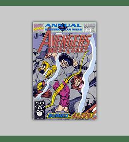 Avengers West Coast Annual 6 1991
