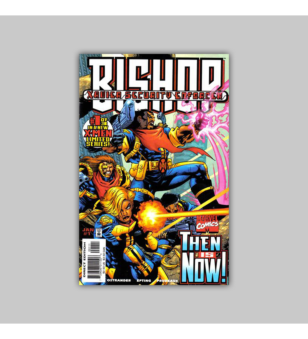 Bishop: Xavier's Security Enforcer 1 1998