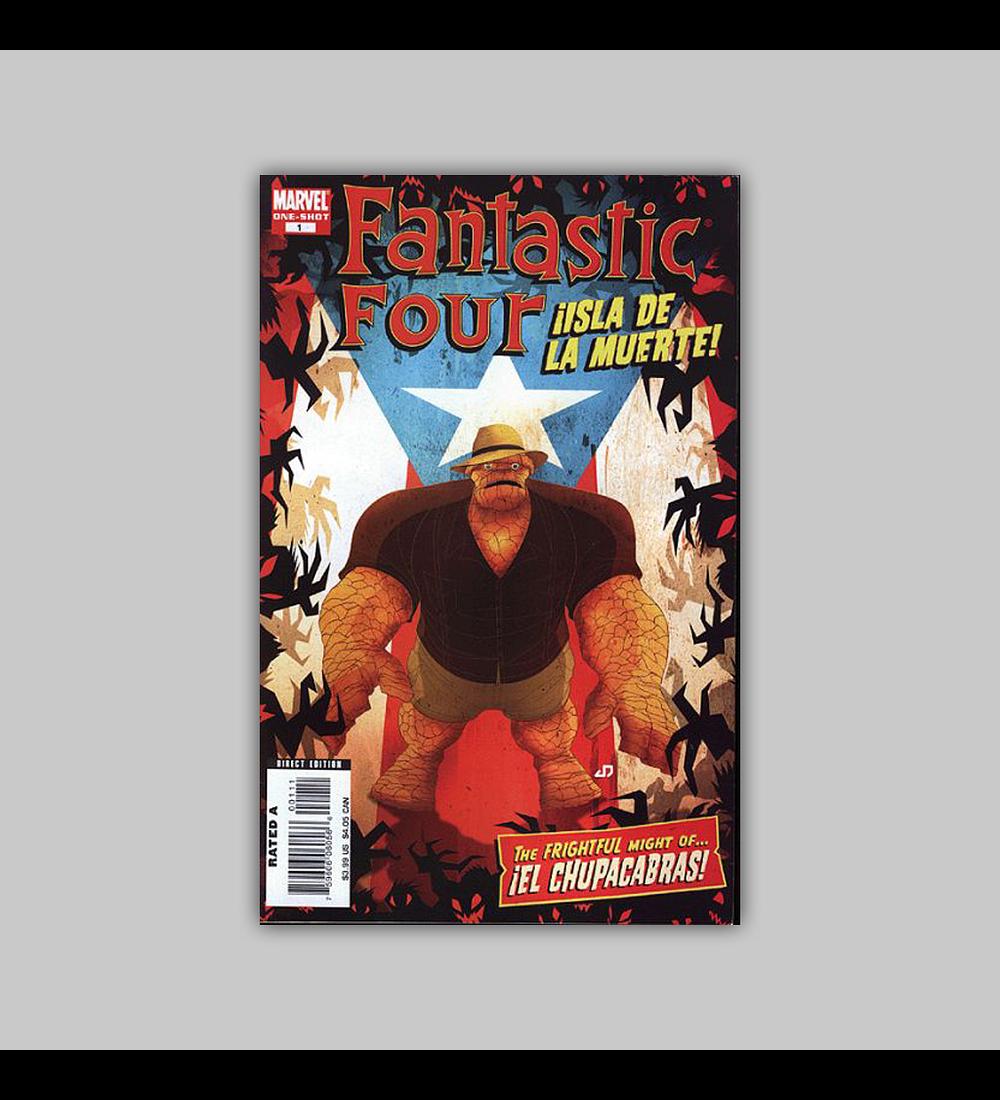 Fantastic Four: Isla de la Muerte! 2008