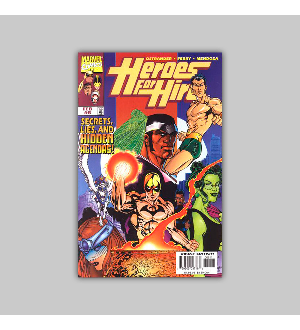Heroes For Hire 8 1998
