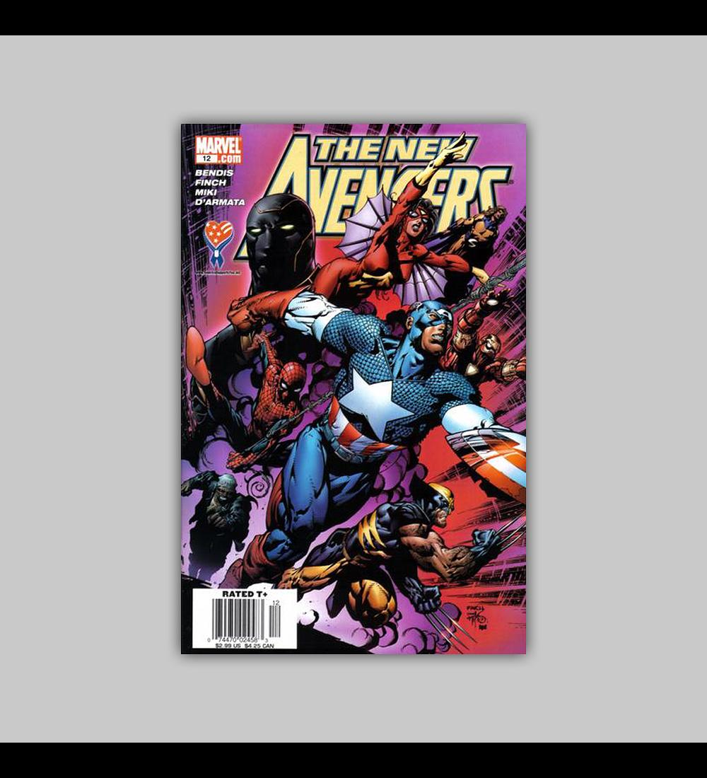 New Avengers 12 2005