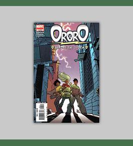 Ororo: Before the Storm 4 2005