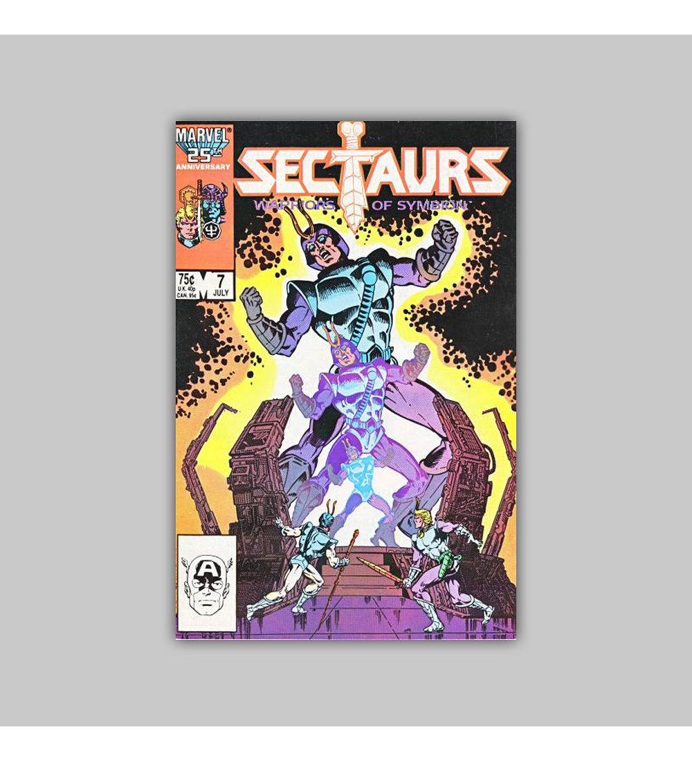 Sectaurs 7 1986