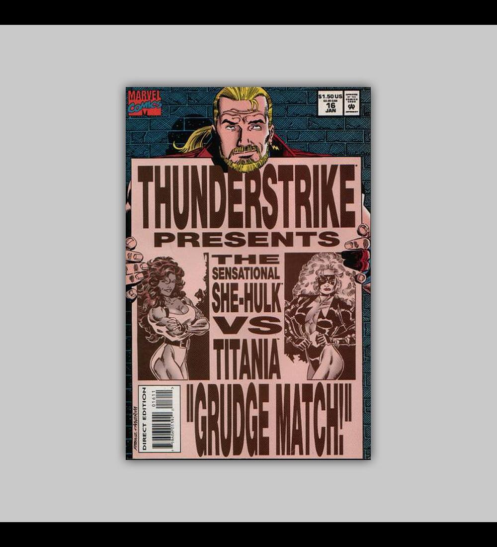 Thunderstrike 16 VF (8.0) 1994