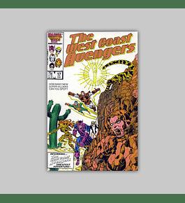 West Coast Avengers (Vol. 2) 17 1987