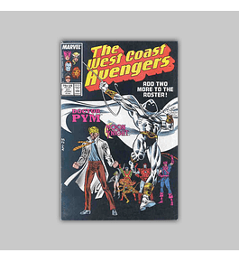 West Coast Avengers (Vol. 2) 21 1987