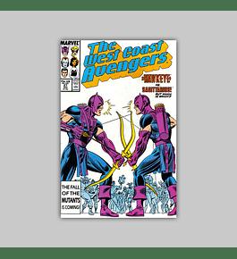 West Coast Avengers (Vol. 2) 27 1987