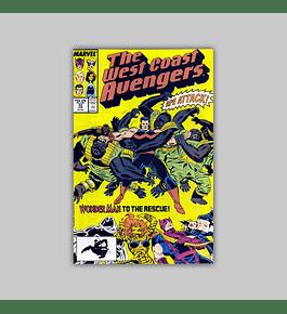 West Coast Avengers (Vol. 2) 33 1988