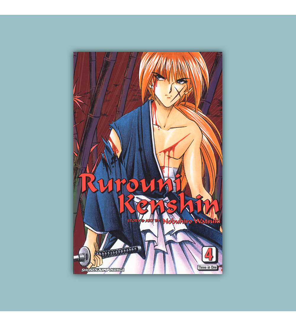 Rurouni Kenshin (3-in-1) Vol. 04 2017