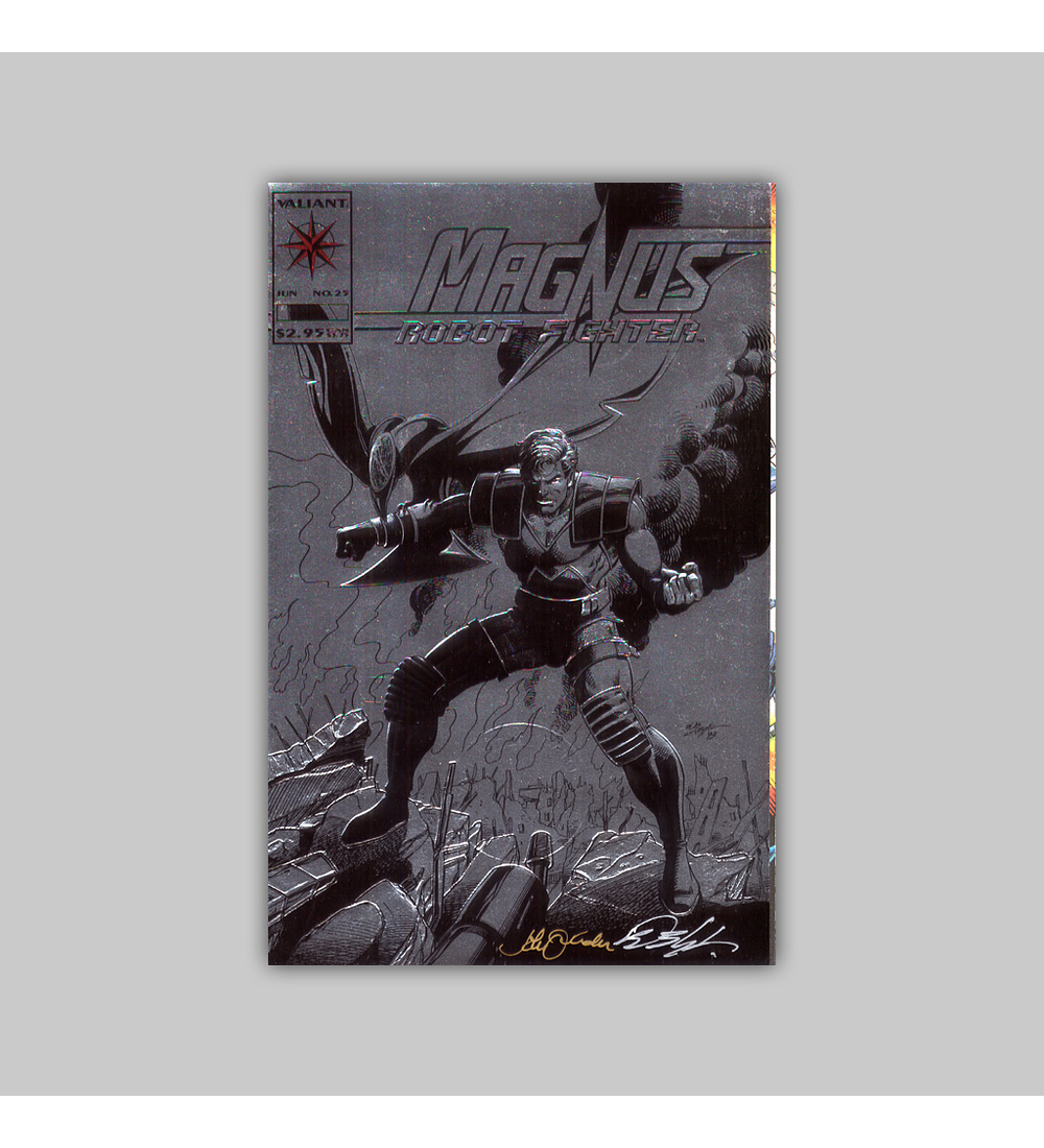 Magnus: Robot Fighter 25 Signed 1993