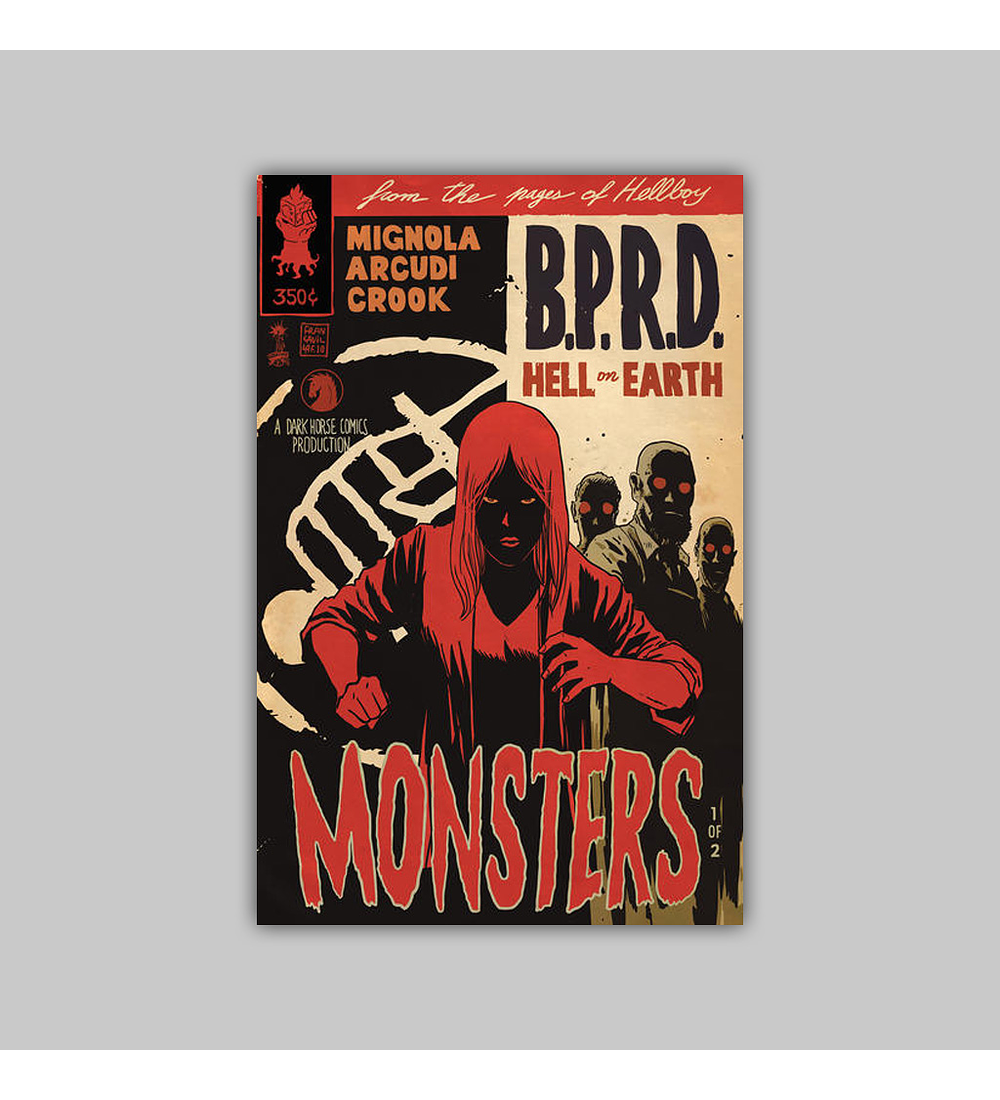 BPRD: Hell on Earth - Monsters 1 2011