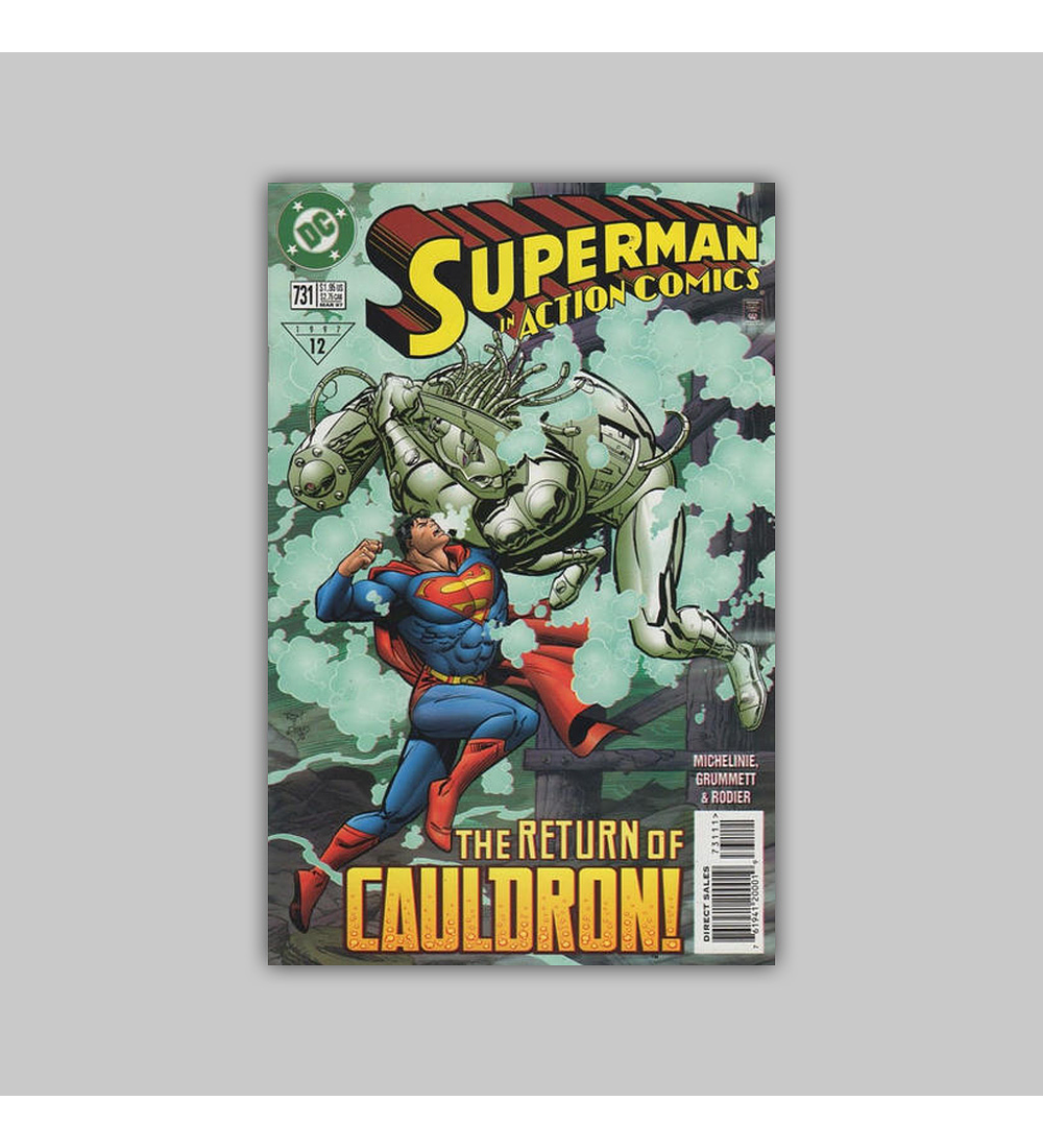 Action Comics 731 1997