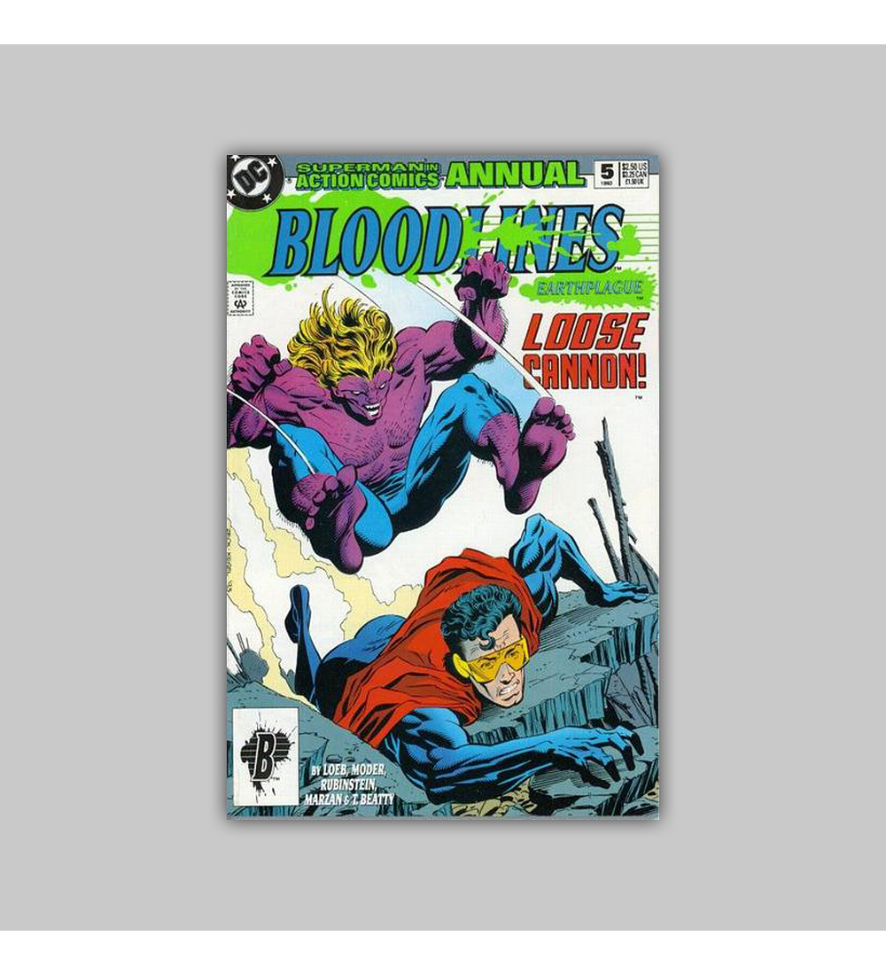 Action Comics Annual 5 1993