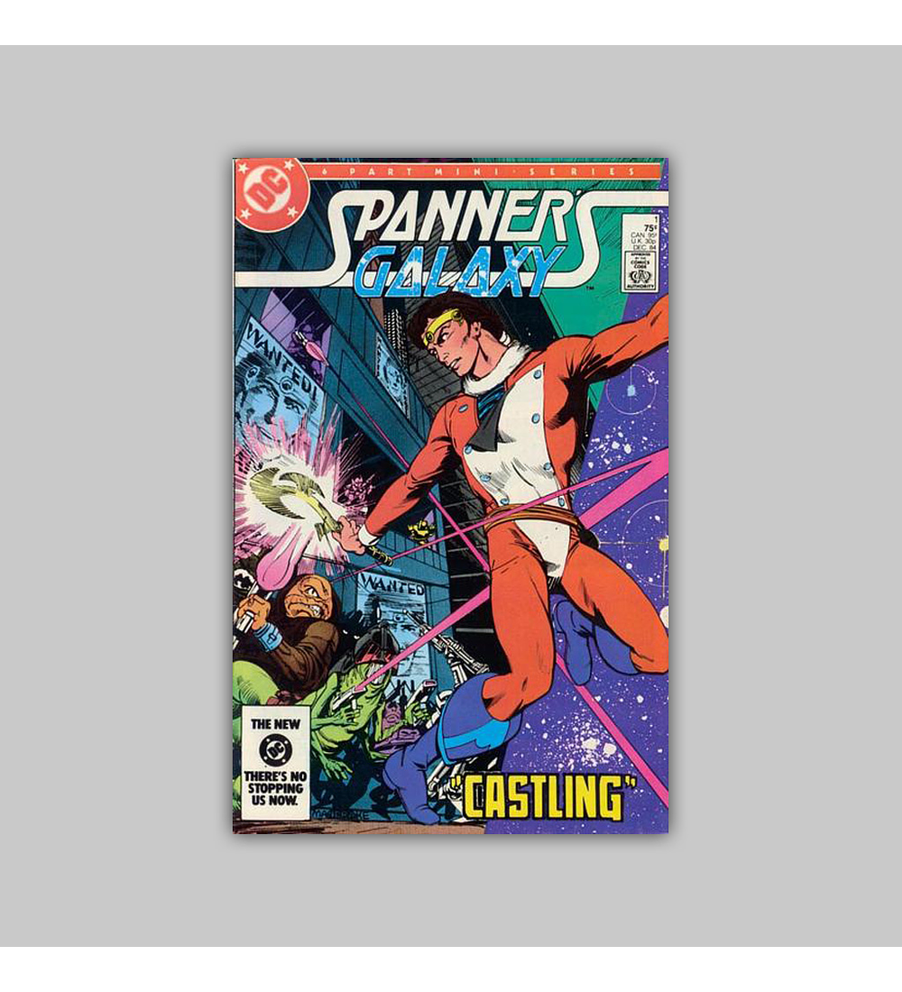Spanner's Galaxy (complete limited series) 1984