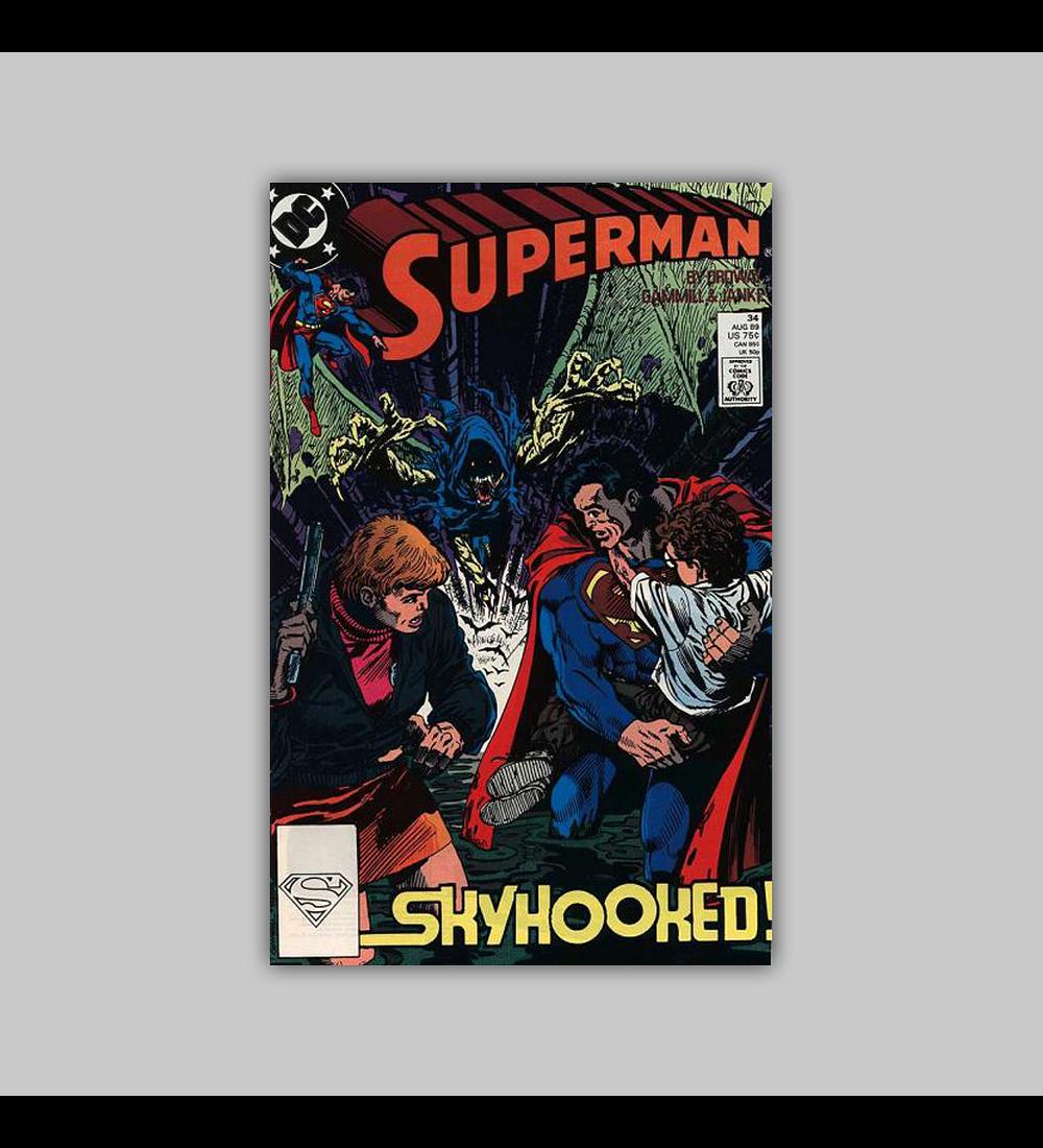 Superman (Vol. 2) 34 1989