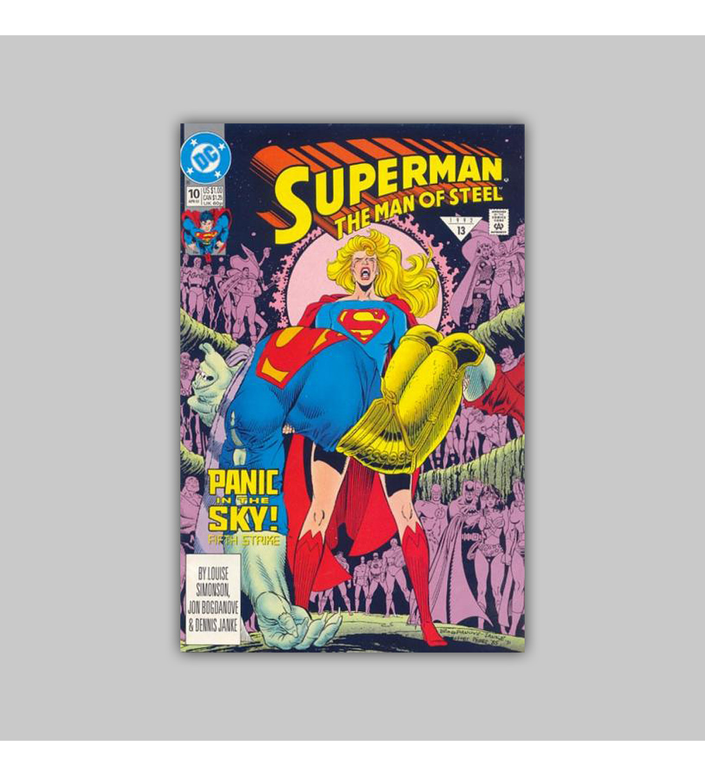 Superman: The Man of Steel 10 1992