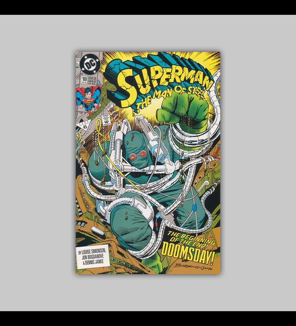 Superman: The Man of Steel 18 1992