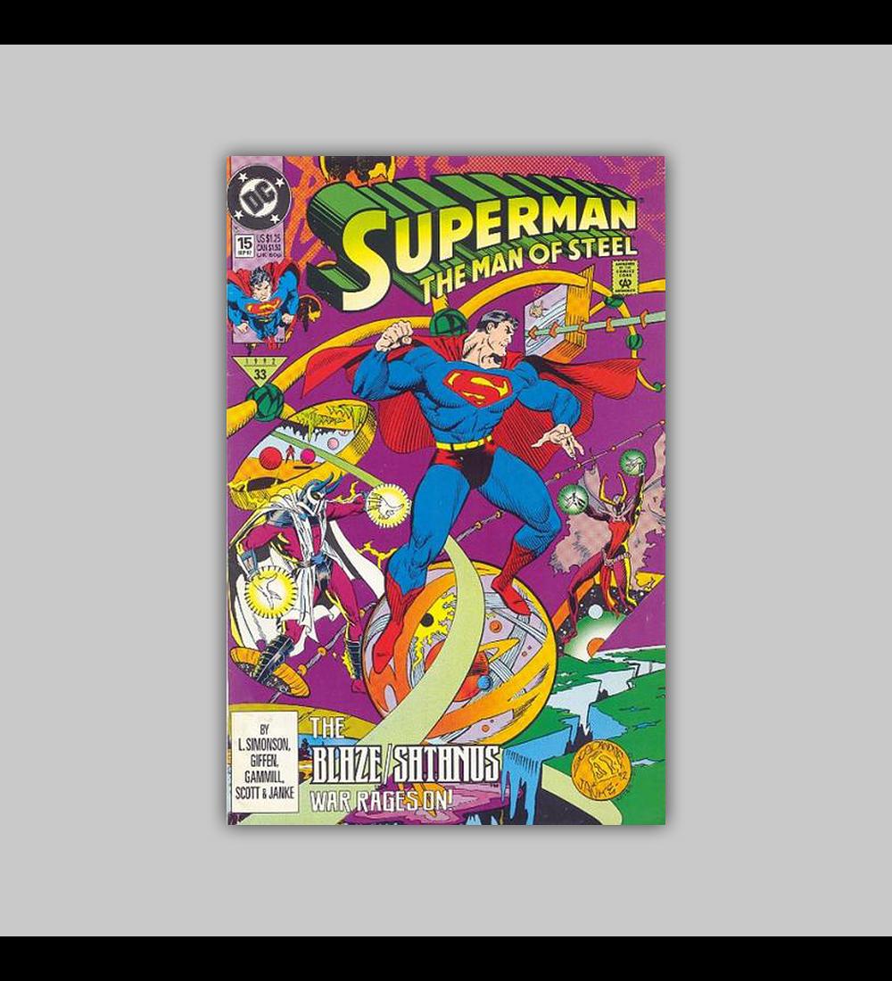 Superman: The Man of Steel 15 1992