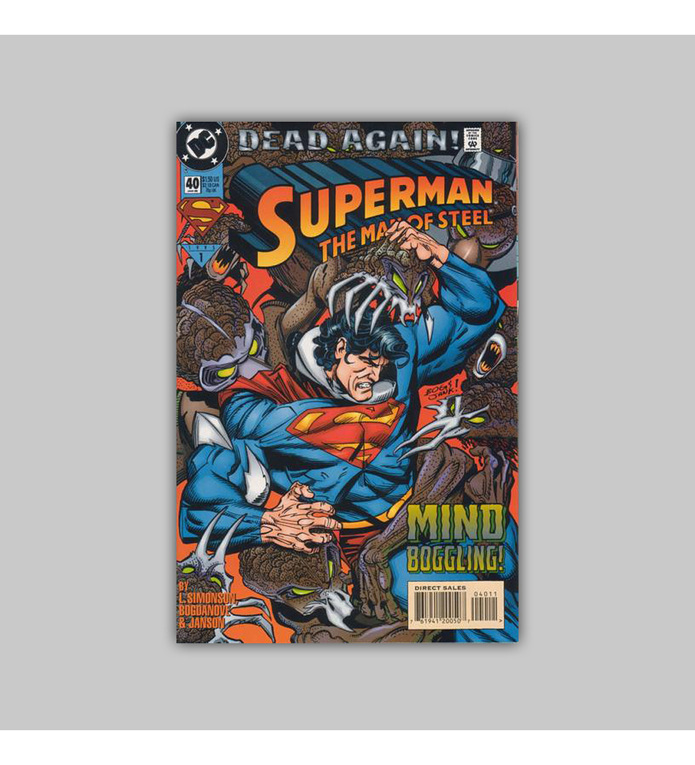 Superman: The Man of Steel 40 1995