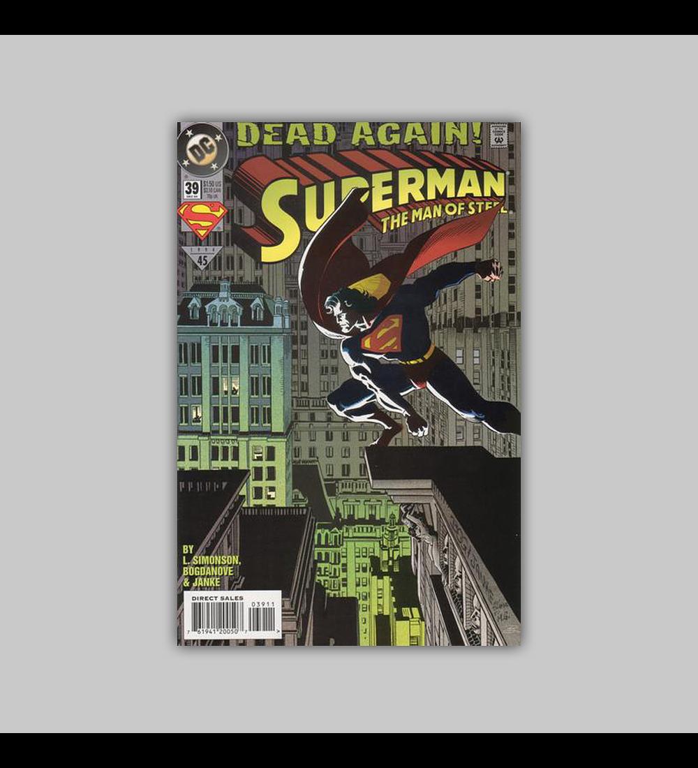 Superman: The Man of Steel 39 1994