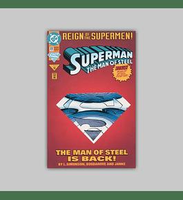 Superman: The Man of Steel 22 Die-Cut 1993