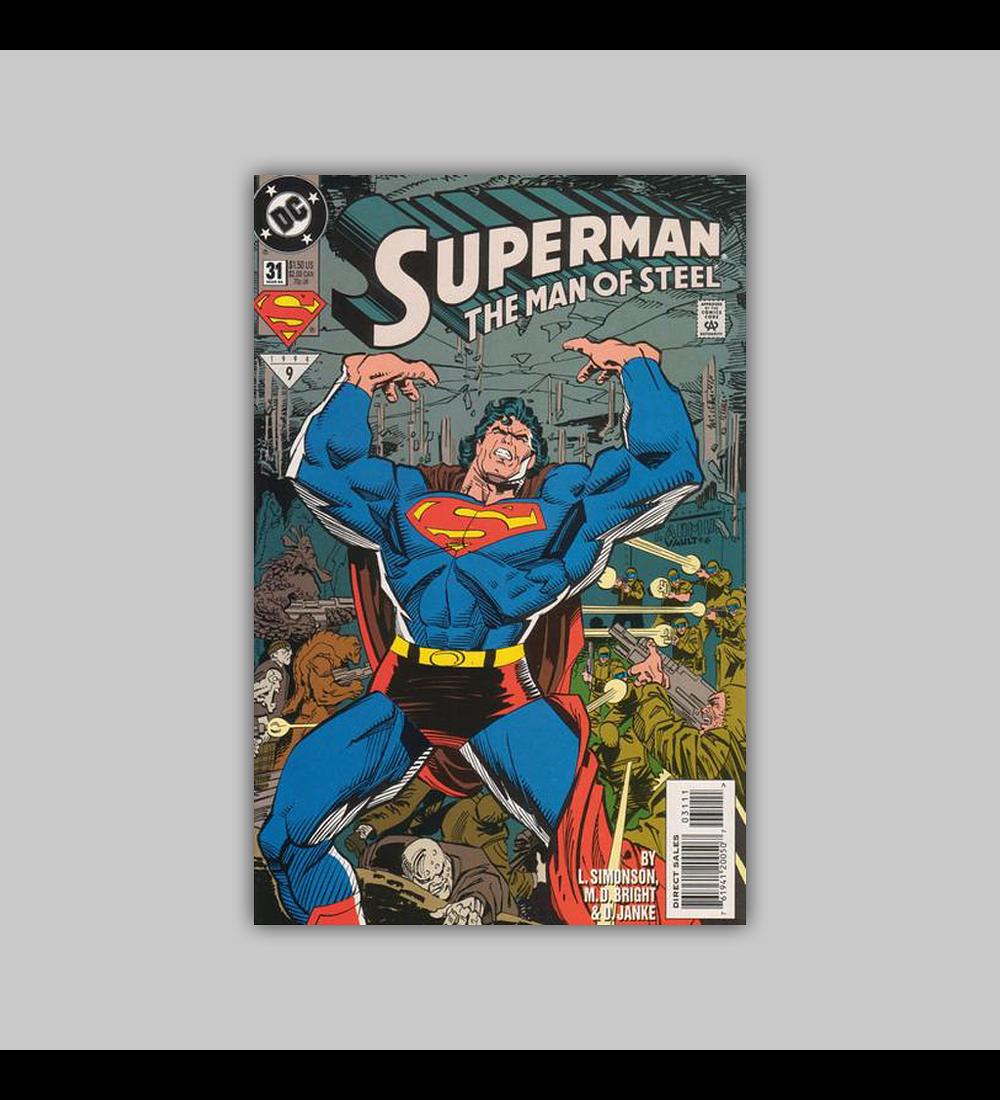 Superman: The Man of Steel 31 1994