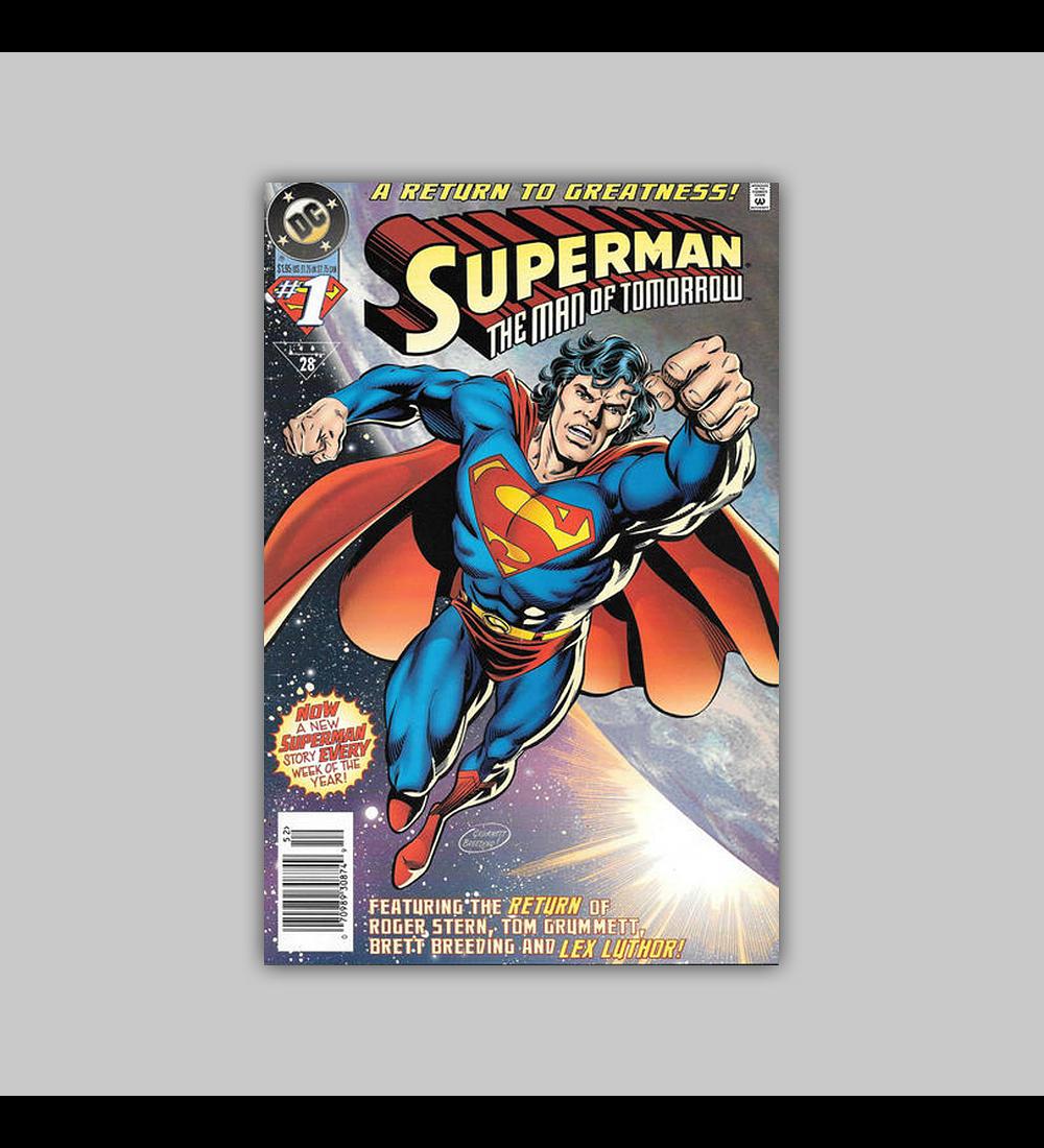 Superman: The Man of Tomorrow 1 1995