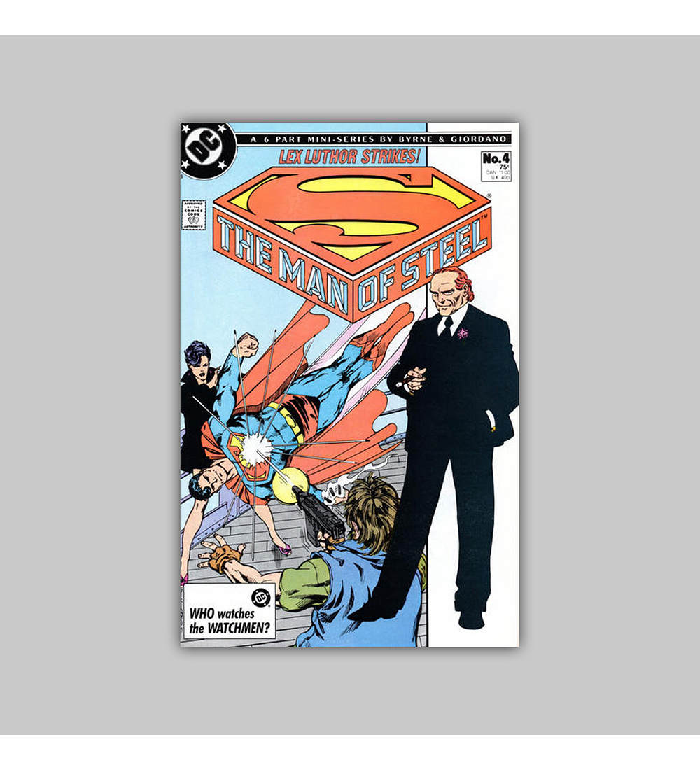 The Man of Steel 4 1986