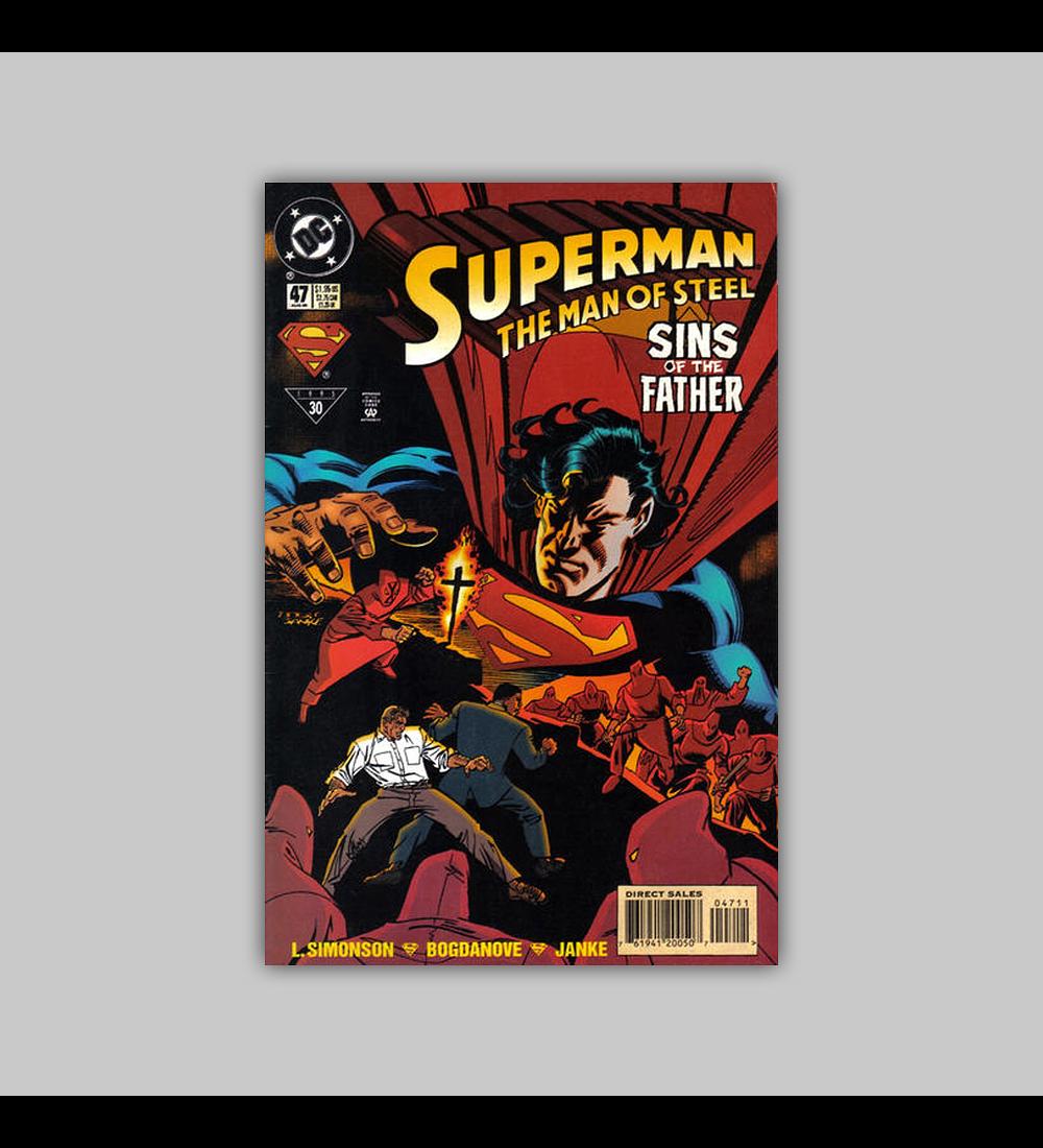 Superman: The Man of Steel 47 1995
