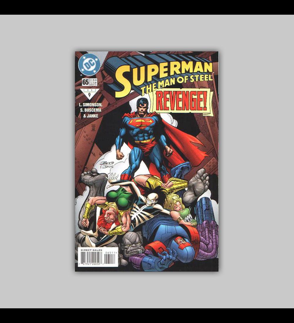 Superman: The Man of Steel 65 1997