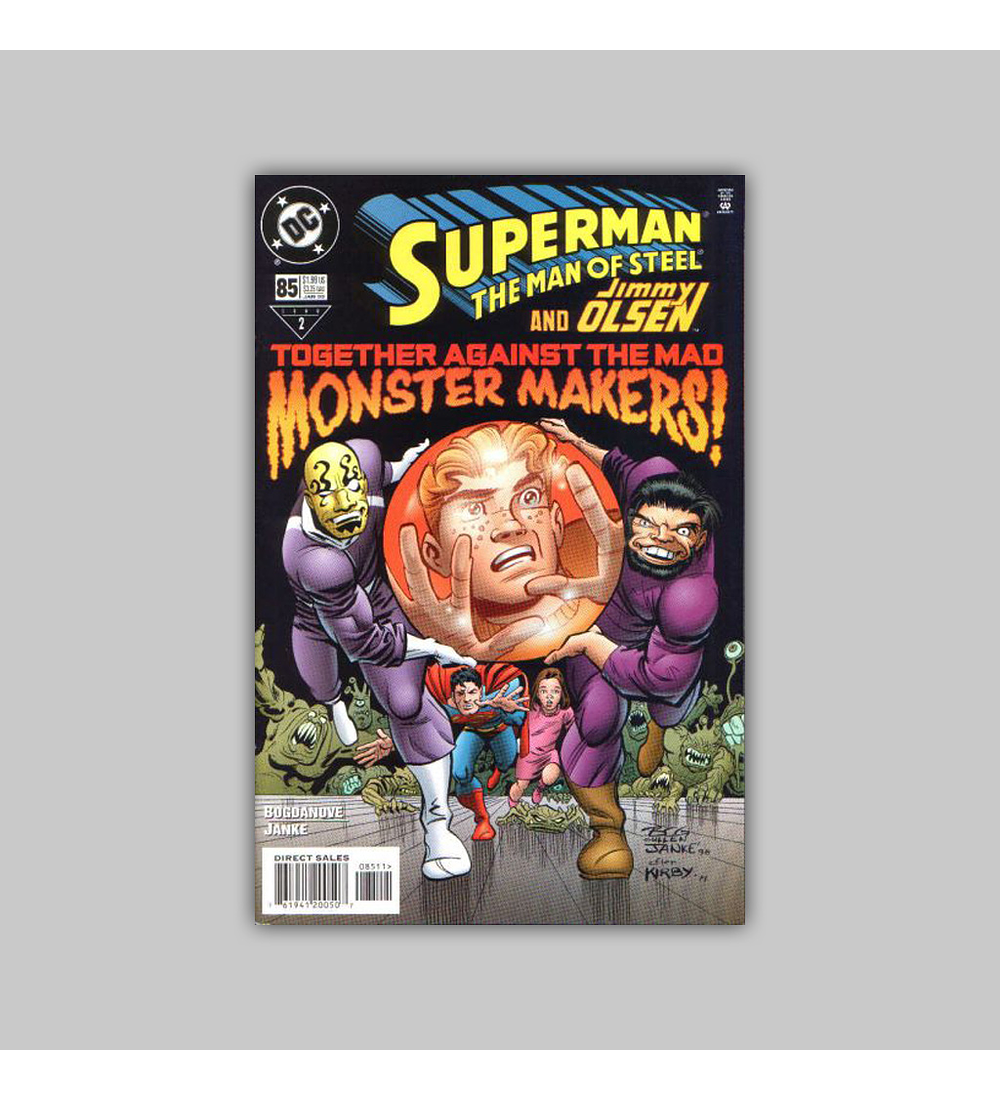 Superman: The Man of Steel 85 1998
