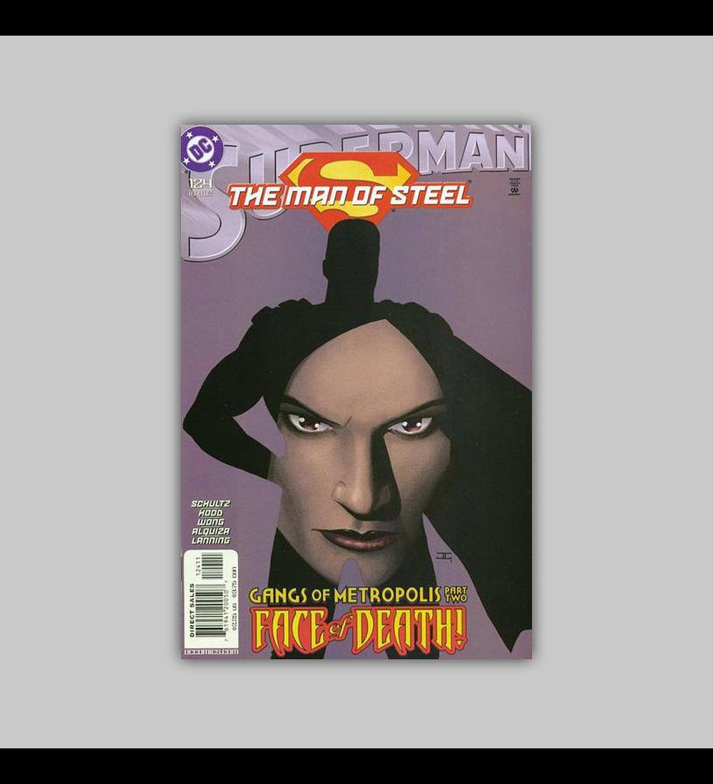 Superman: The Man of Steel 124 VF (8.0) 2002