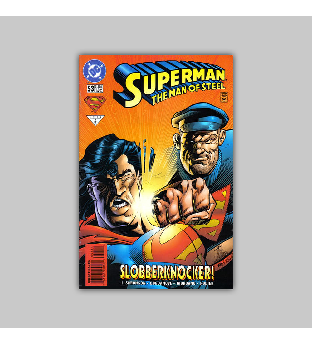 Superman: The Man of Steel 53 1996