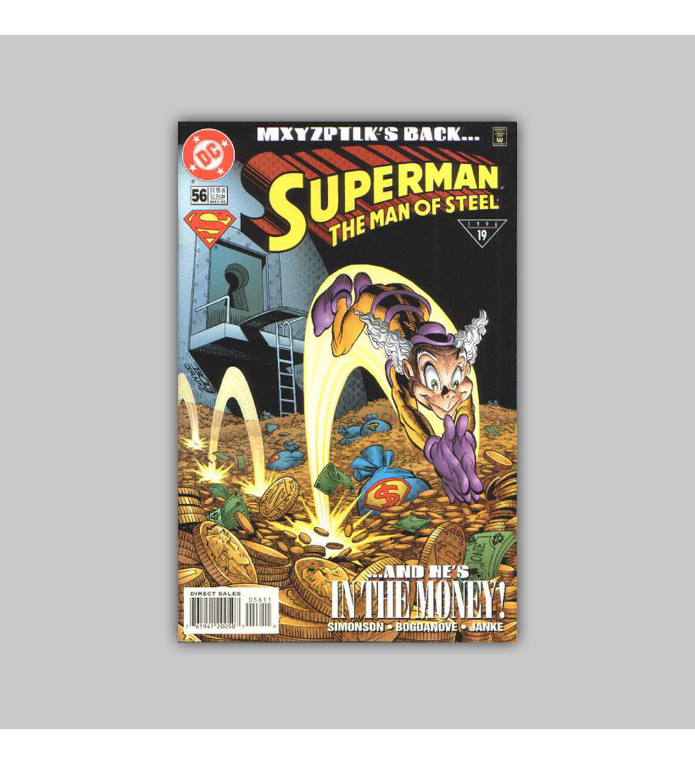 Superman: The Man of Steel 56 1996