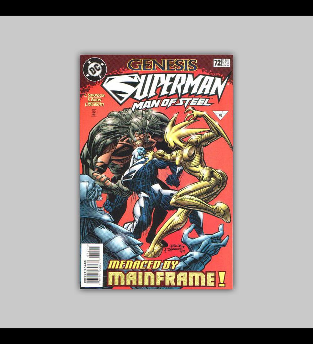 Superman: The Man of Steel 72 1997
