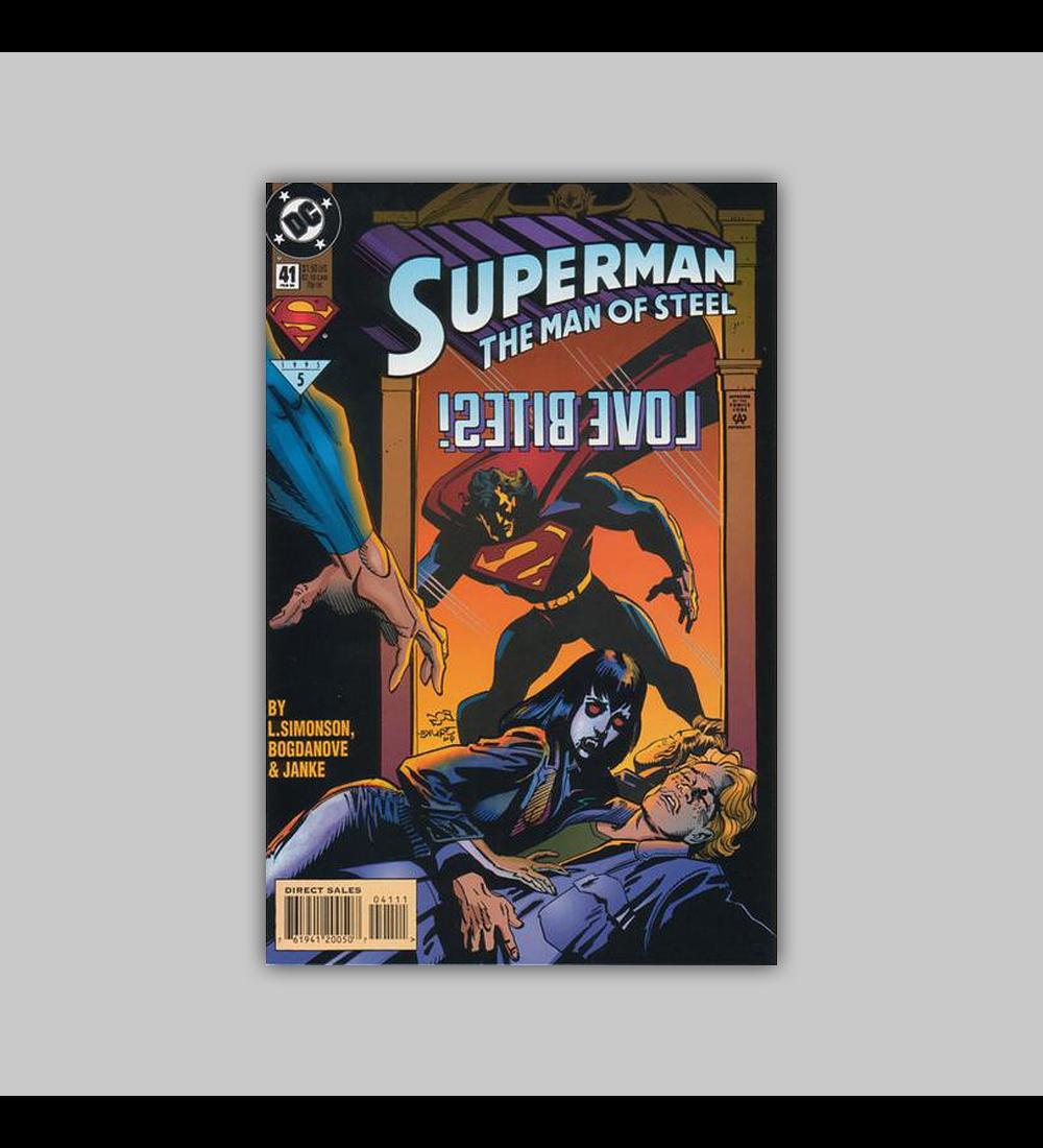 Superman: The Man of Steel 41 1995
