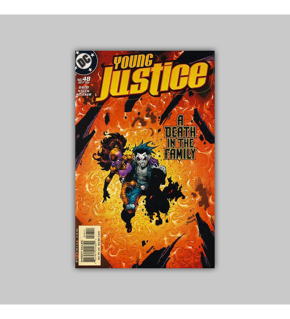 Young Justice 48 2002