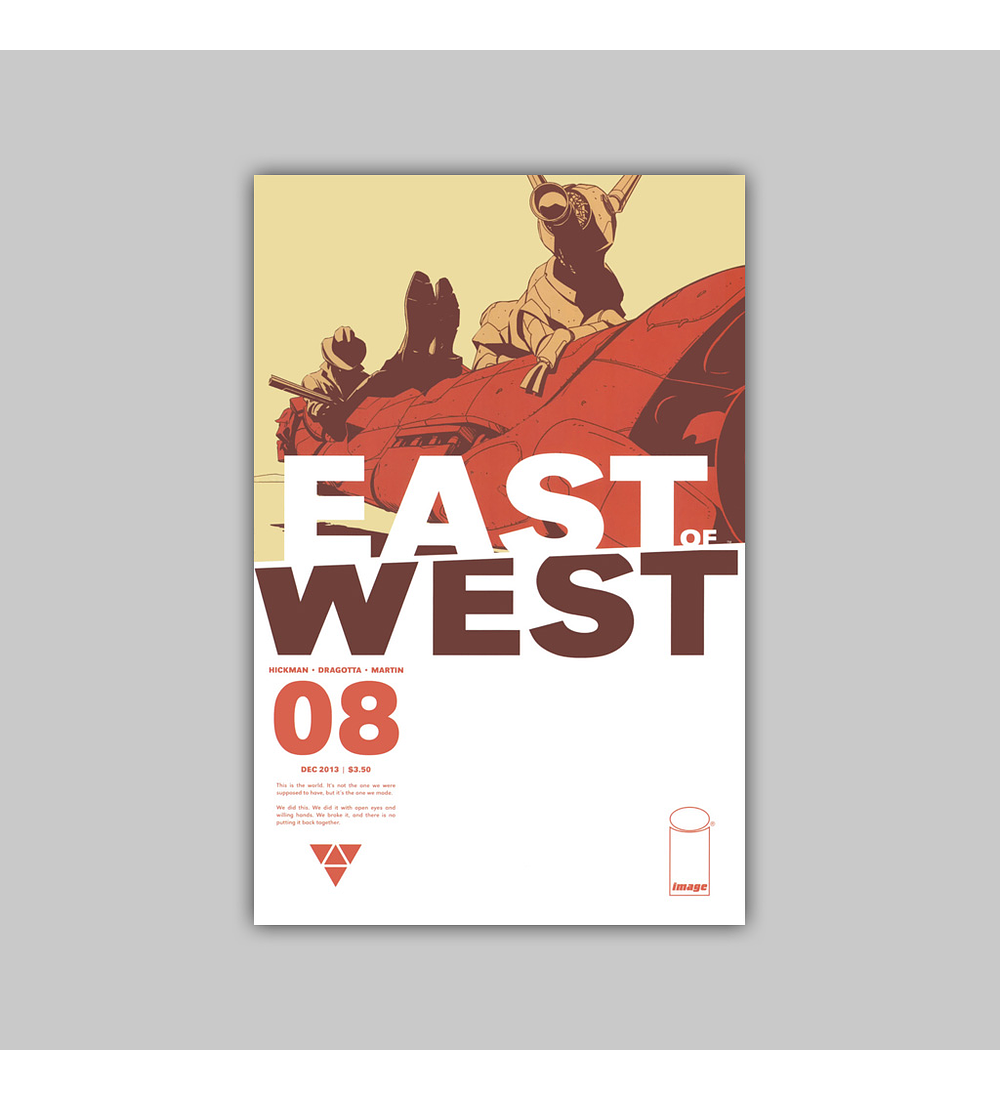 East of West 8 2013