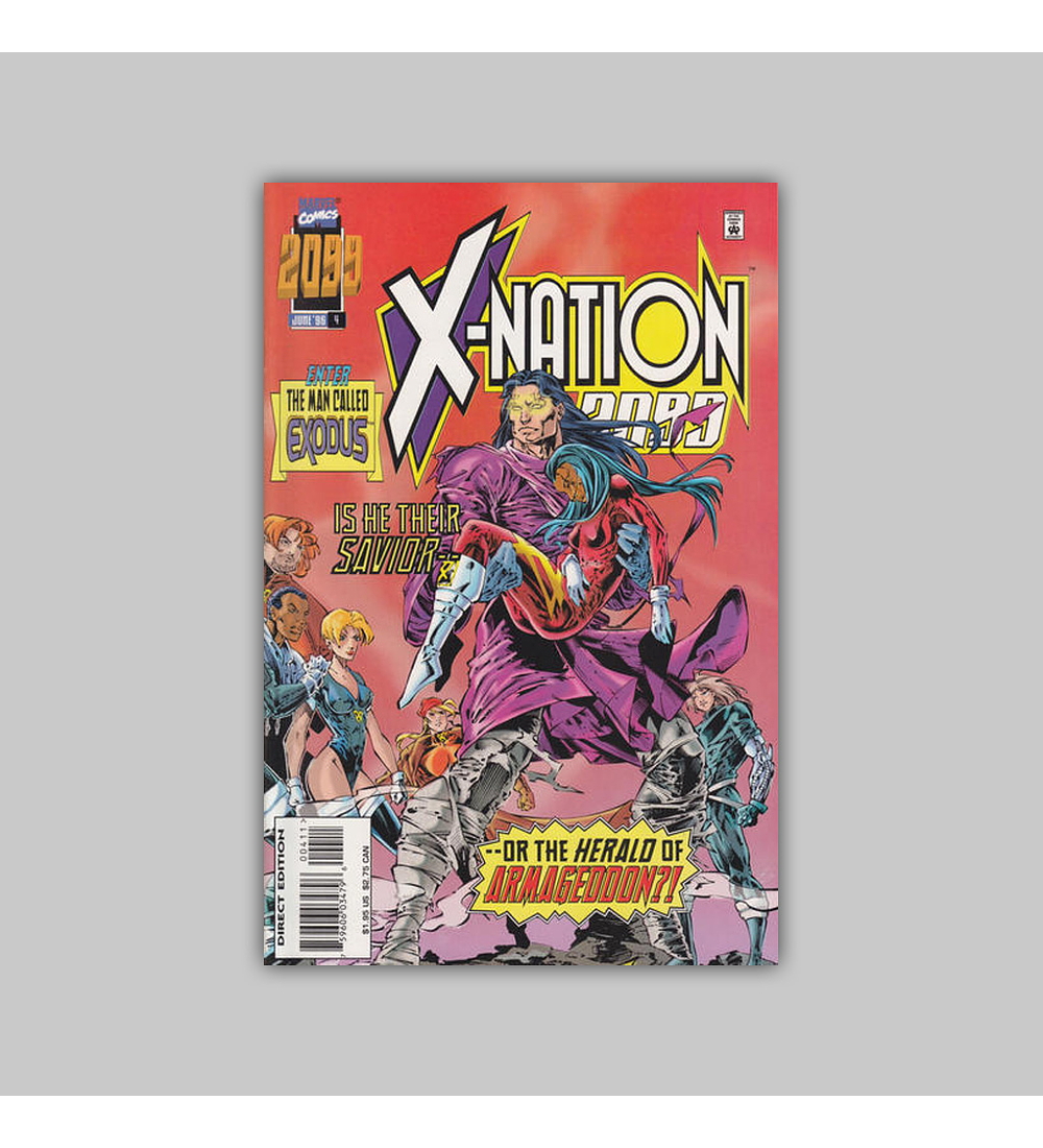 X-Nation 2099 4 1996