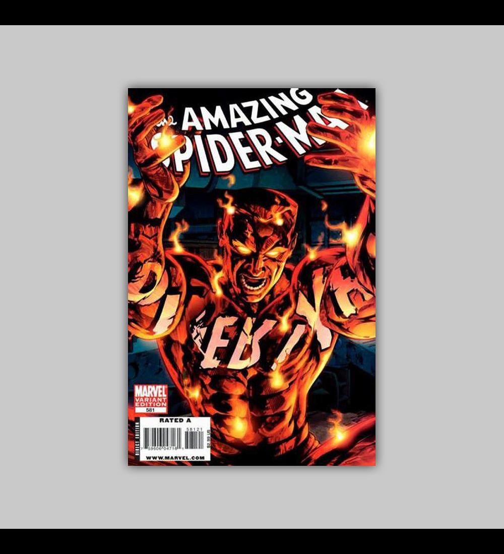 Amazing Spider-Man 581 Villains 2009