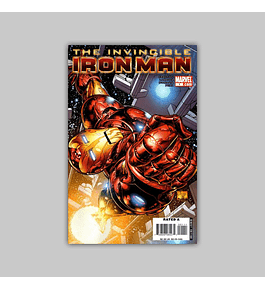 Invincible Iron Man 1 B 2008
