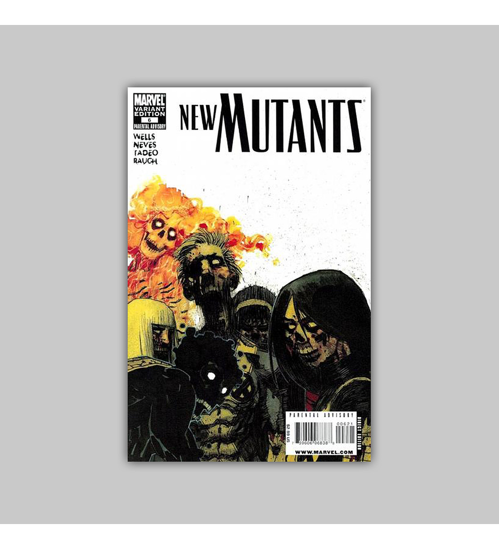 New Mutants (Vol. 3) 6 B 2009